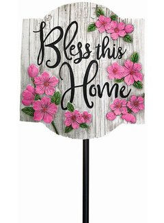 Bless this Home - Garden Stake