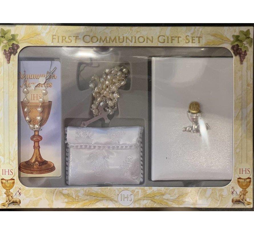 Communion Missal Kit w/ Bracelet Girl