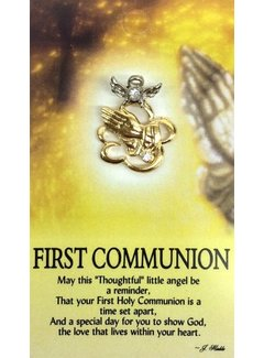 Communion Angel Pin