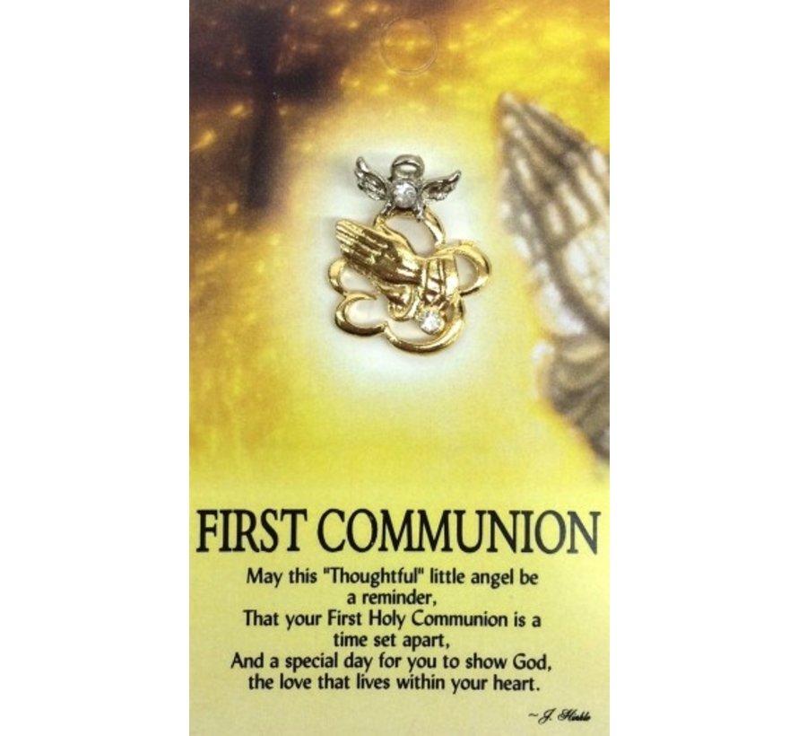 Communion Angel Pin