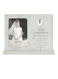"First Communion Standing Frame  4"" x 6"""