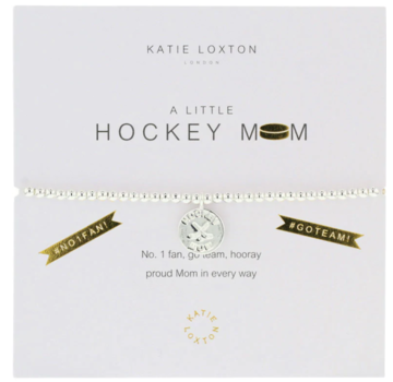 a little HOCKEY MOM (USA) - bracelet
