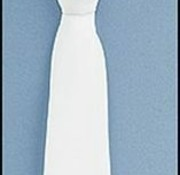 White Communion Tie
