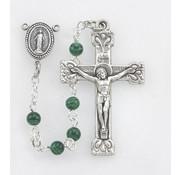 Malachite Bead Rosary