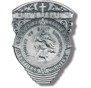 Points of Safety St. Christopher Visor Clip