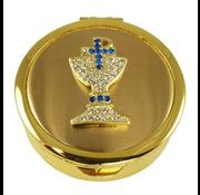 Pave Chalice Pyx Gold