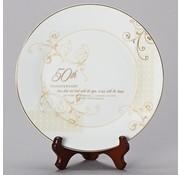 50th Anniversary Plate