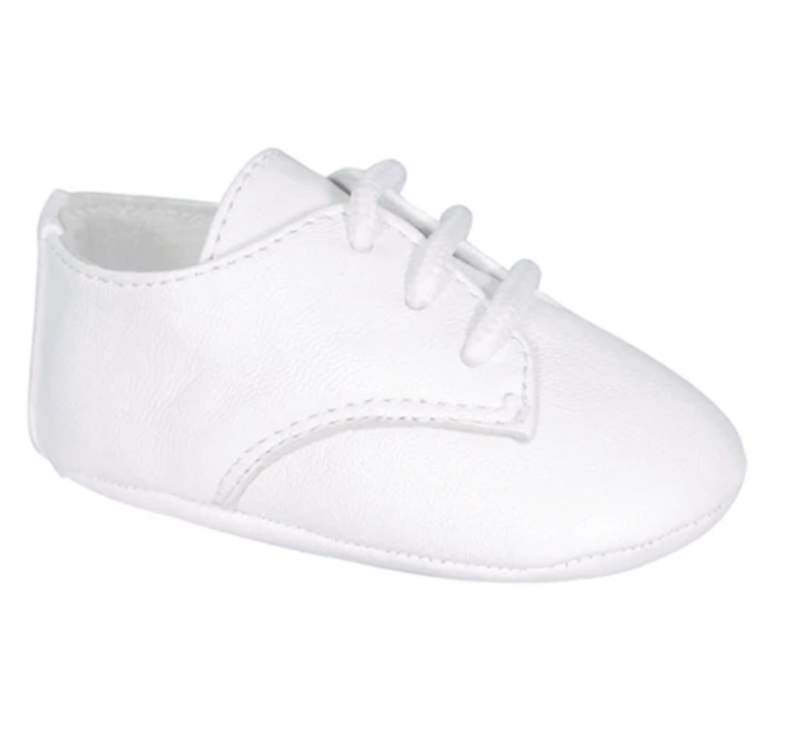 Eric Leather Oxford Boy Baptism Shoe