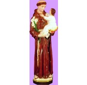 "24"" St. Anthony Outdoor Statue"