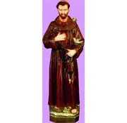 "24"" St. Francis Outdoor Statue"
