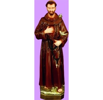 """24"""" St. Francis Outdoor Statue"""