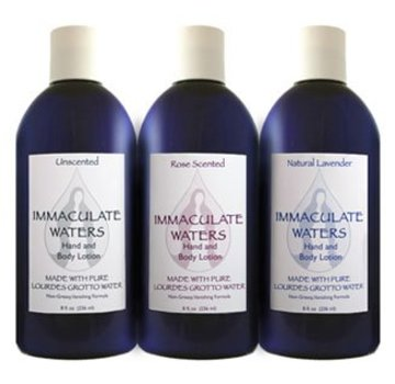 Sacred Heart Gifts & Apparel Lourdes Hand & Body Lotion