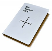 New American Bible (White) Large Print