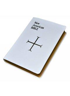 New American Bible (White) Large Print