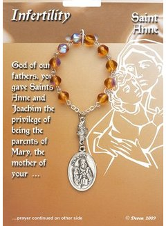 Sacred Heart Gifts & Apparel Difficult Times Infertility Rosary