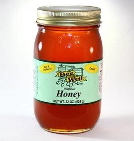 Wildflower Honey 22oz Strained