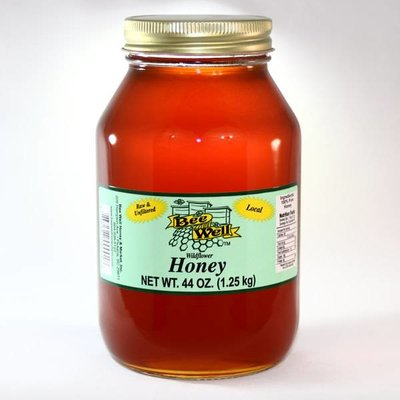 Wildflower Honey 44oz Strained