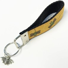 Bee Key Chain w/Charm