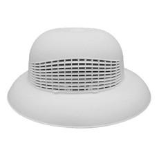 Helmet White Plastic One Size