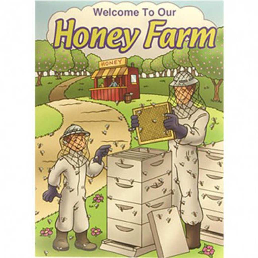Honey Farm Coloring Book