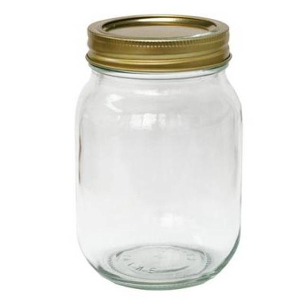 Pint Jars w/Lids 12ct