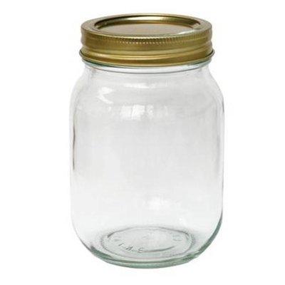 Pint Jars w/Lids 12ct