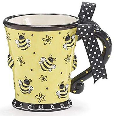 Raised Bees Mug