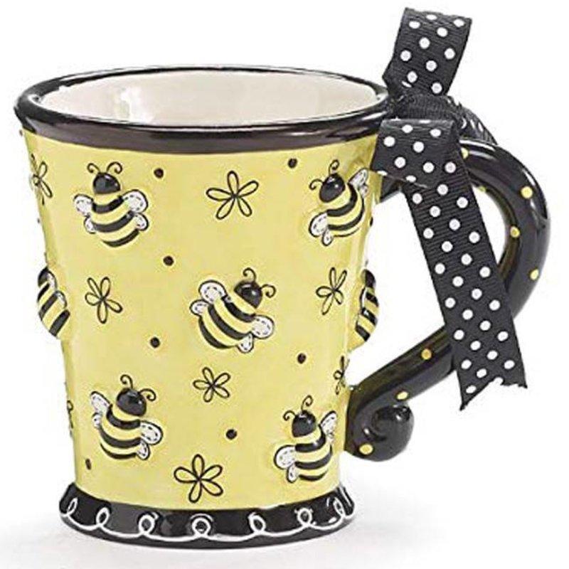 Raised Bees Mug