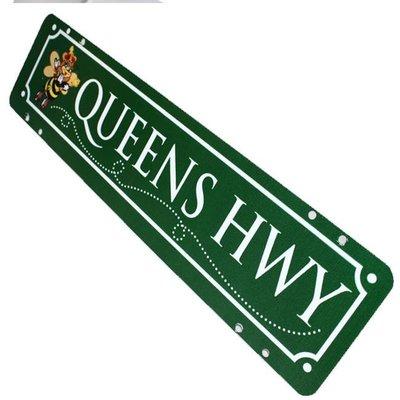 Sign Queens Highway