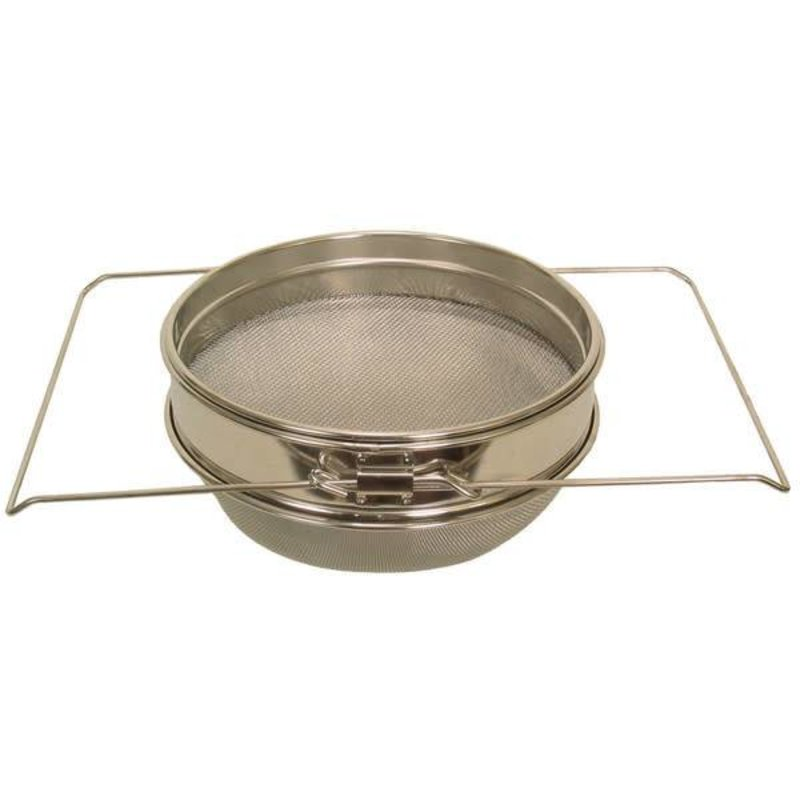 Strainer Double Sieve Metal