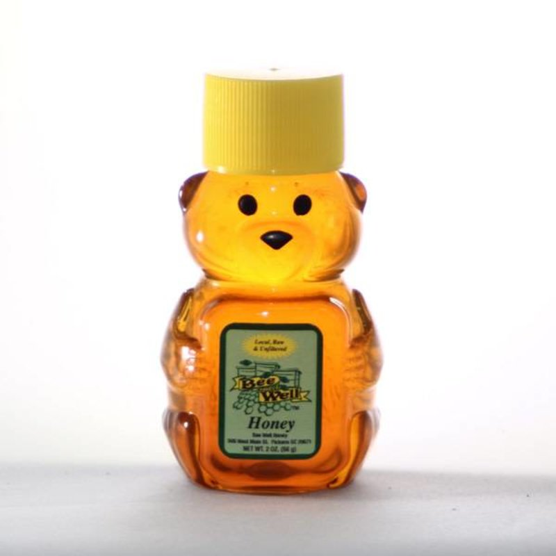 Wildflower Honey Mini Bears 2oz