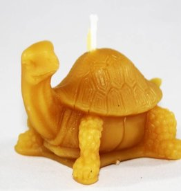 Bee Well Turtle Beeswax Candle