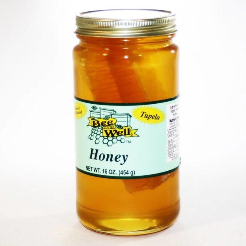 Tupelo Honey 16oz  with Comb
