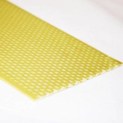Foundation Deep/Brood Yellow Plastic wax coated