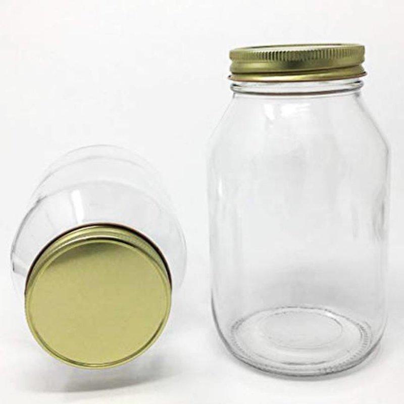 Quart Jars w/Lids 12ct