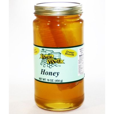 Orange Blossom Honey With Comb
