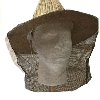 South East Bee Supply Veil Straw Hat & Veil/Cowboy