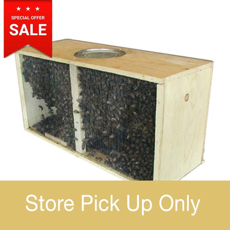Bee Well Package Bees – Italian Hygienic – Marked Queen - Store Pickup