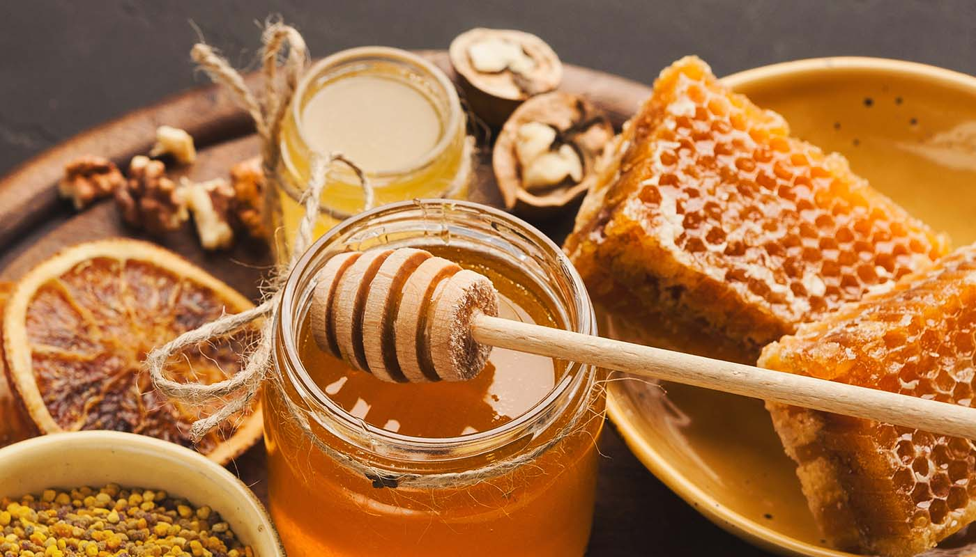 Raw. Local. Honey