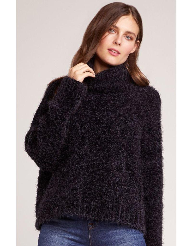 bb dakota bb dakota eyelash kisses turtleneck sweater