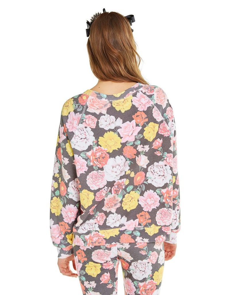 wildfox wildfox sweater with queens garden print