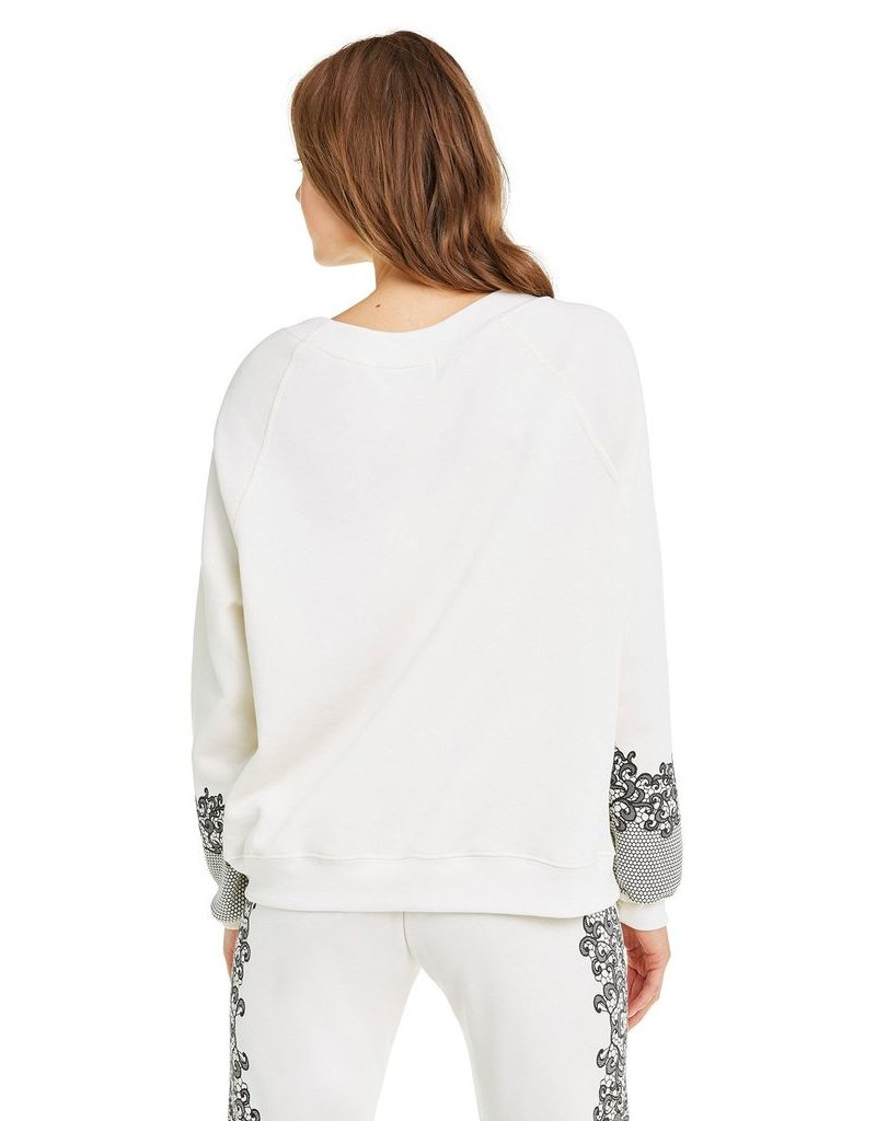 wildfox wildfox sweater chantily lace print
