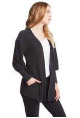 chaser chaser open front cardigan
