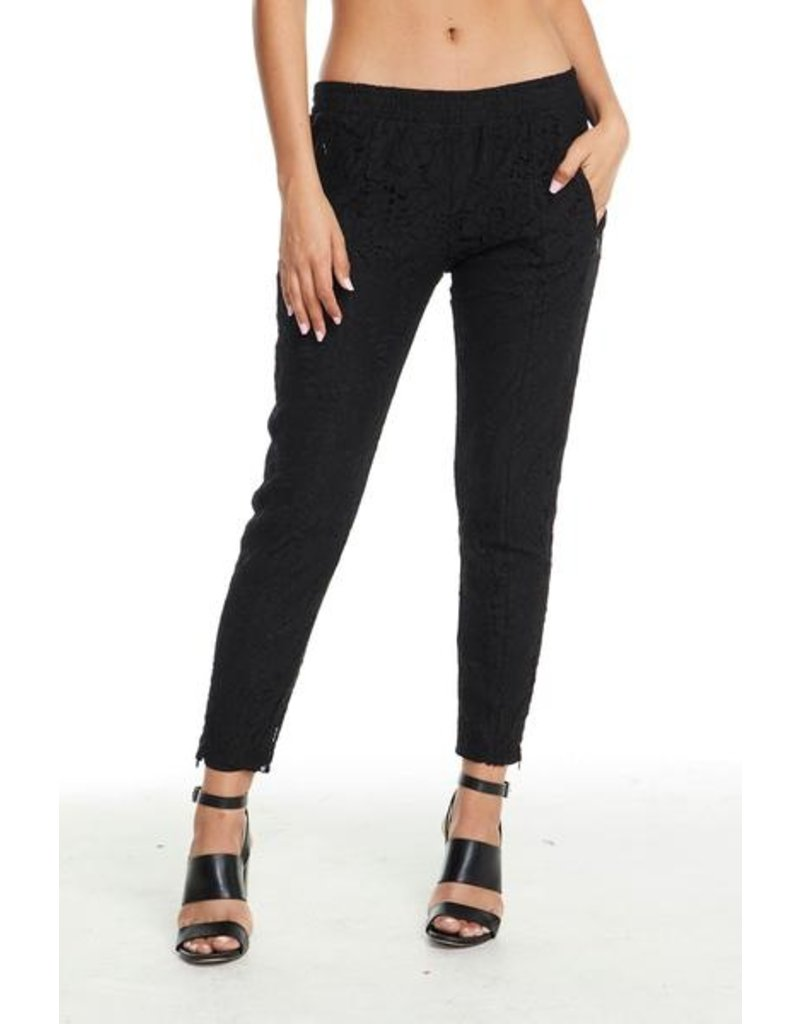 chaser chaser lace trouser track pant