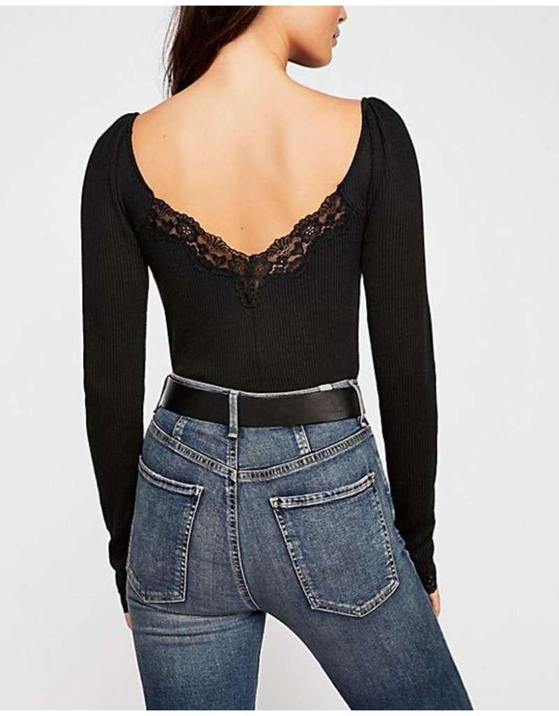 free people free people lace henley top
