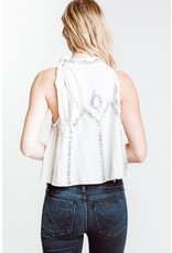 free people free people glitter city tank