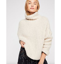 free people free people fluffy fox sweater