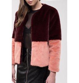 j.o.a. joa color block jacket
