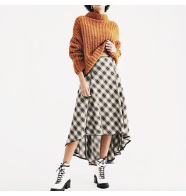 free people free people plaid skirt