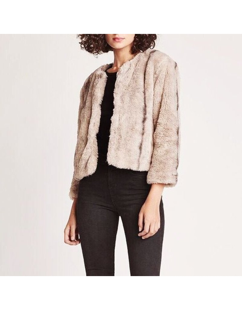jack jack cropped chubby faux fur